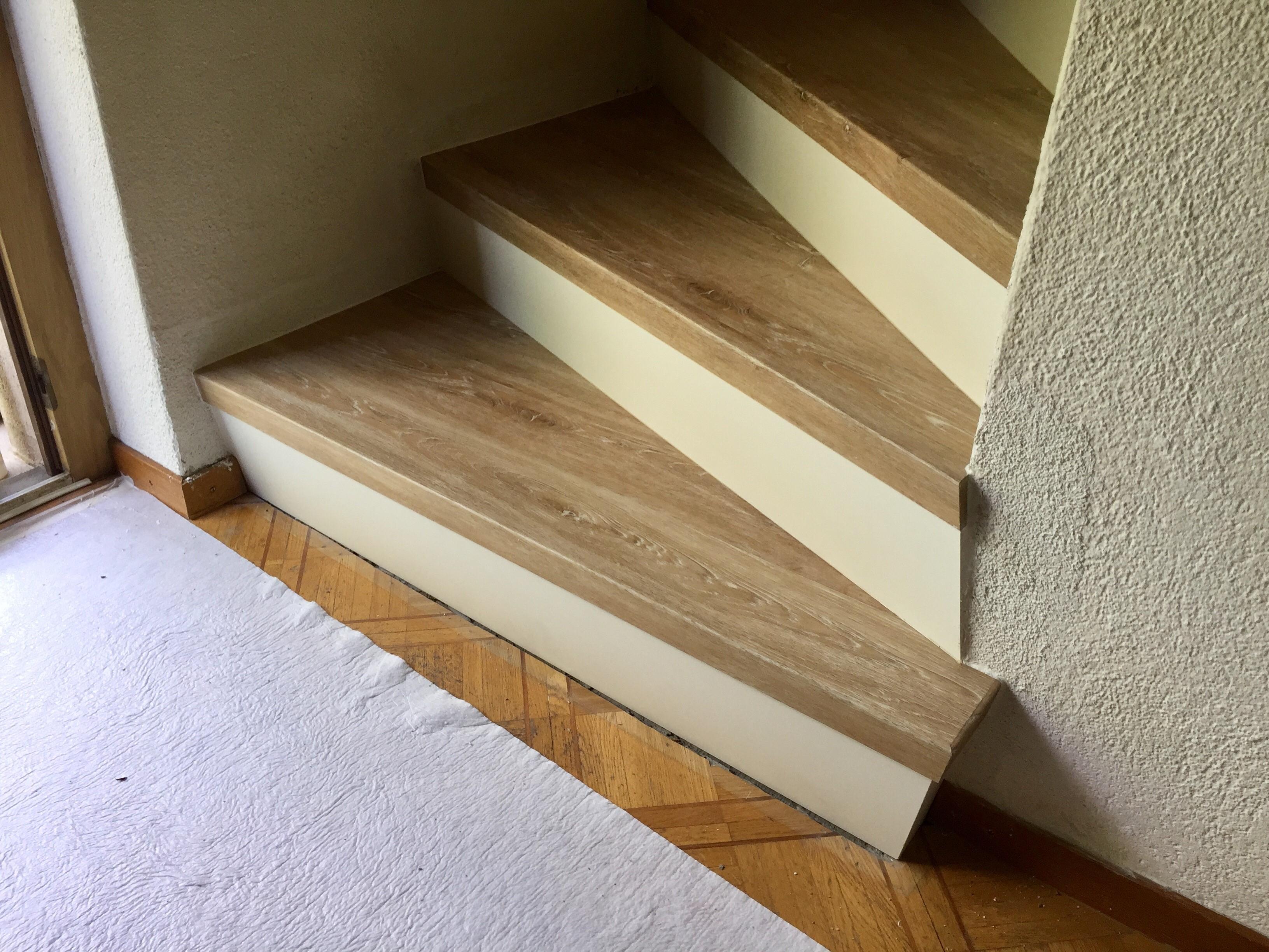 Vinyl auf treppe treppe herrlich wei eiche with vinyl auf treppe